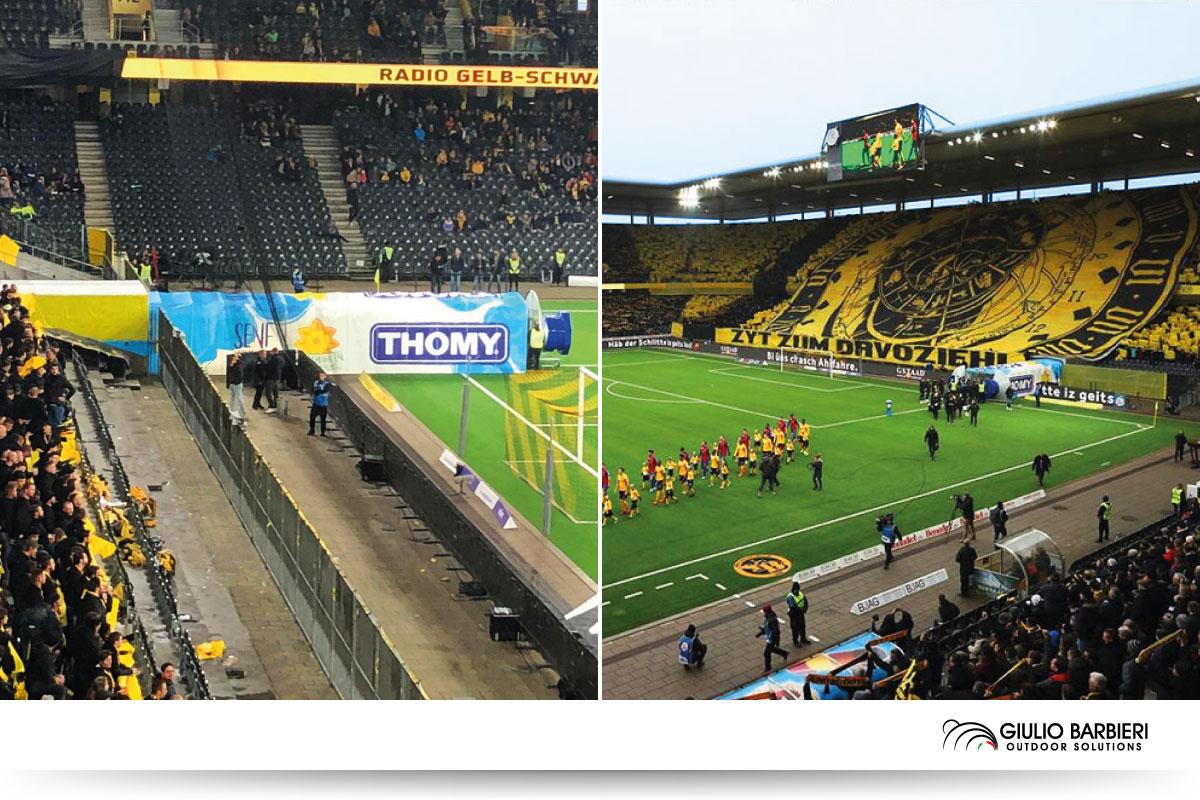 Verbindungstunnel - Stade de Suisse