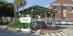 Carport mit Ladestation für Bike-Sharing IrenGo