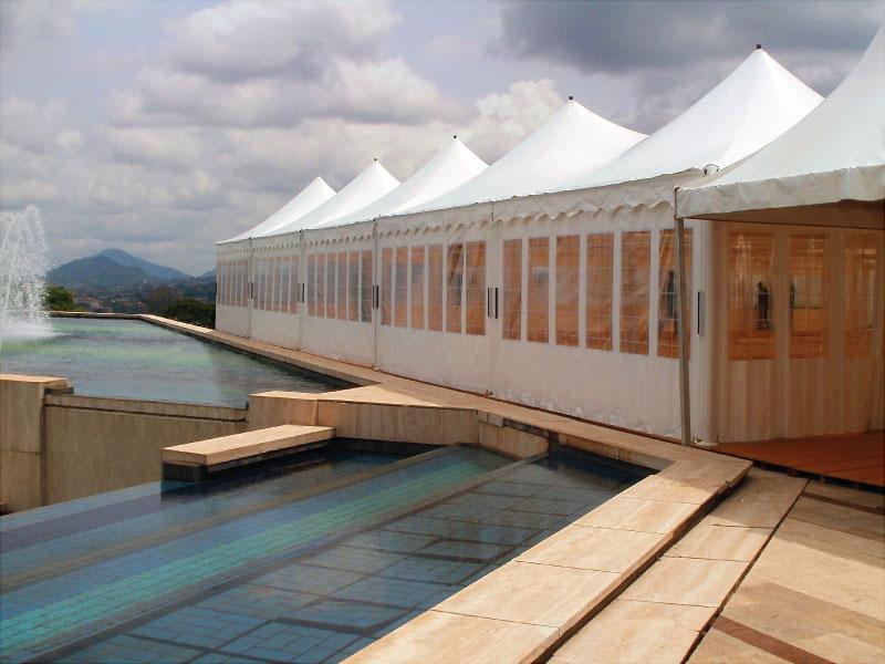 Pavillons für die Präsidentschaft der Republik Kamerun