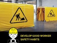 Tragbares Arbeitszelt: Mit den ausziehbaren Aluminiumtunneln ist auch die Arbeit vor Ort sicherer