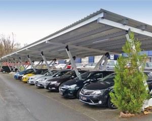 Carport aus Metall Pensilauto - Deutschland