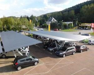 Carport aus Metall Pensilauto - WEMAtech - Deutschland
