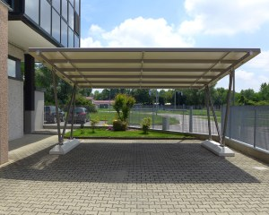 Carport aus Metall Pensilauto Light 100 - SAPS SAS Genius Group