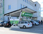 Carport aus Metall Pensilauto - Lagerhaus Österreich