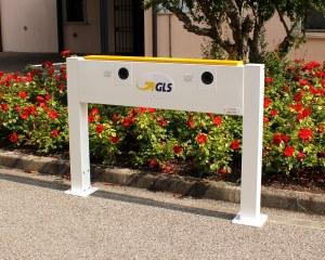 E-Auto Ladestation - GLS Transportunternehmen mit Elektrofahrzeugen