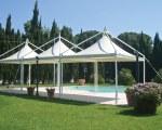 Gartenpavillon für den Pool - Bima Snc