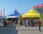 Pagodenzelt - Moto GP 2010