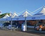 Partyzelt für Autoausstellung - Owen Brown, UK