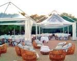 Gartenpavillon für Sommerveranstaltungen - Container eventi & allestimenti