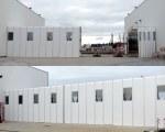 Mobiles Industriezelt für Solumat von Vinci Construction in Vierzon