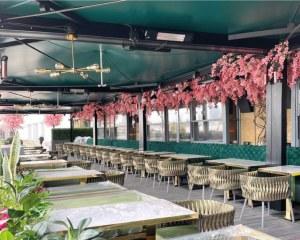 Pergola Markise für die Restaurant Coco - London