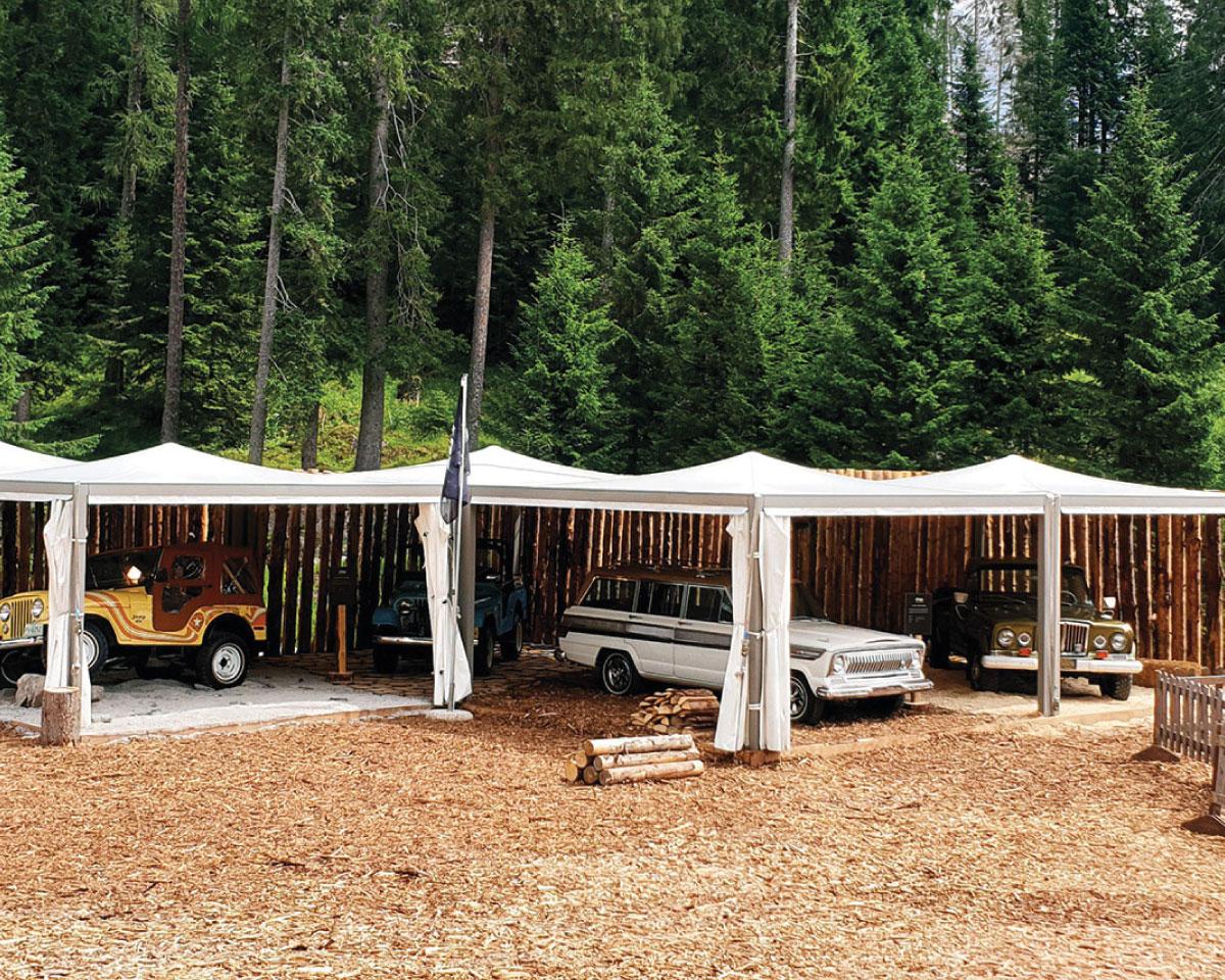 Moderner pavillon zu vermieten, messen und events