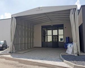 Industriezelt für Fornitek in San Giorgio di Piano (BO), Italien