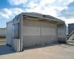Zelthalle für Gaststättengewerbe in Frankreich