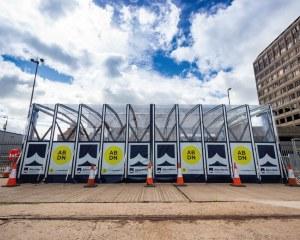 Zelthalle für Spacio Tempo in Aberdeen (UK)