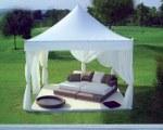 Gartenpavillon aus Allumium