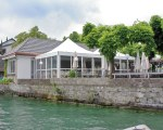Pagodenzelt für das Restaurant Roessli in der Schweiz