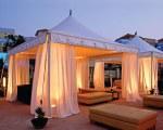 Partyzelt für den Entspannungsbereich - Dubai