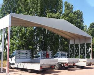 Zelthalle für Giulio Barbieri  14/5000 Unternehmenszentrale