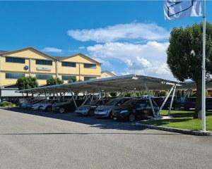 Fotovoltaik-Carport Pensilsole Middle