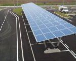 Solarcarport freistehend aus aluminium