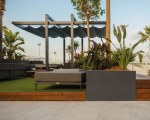 Pergola mit Schiebedach für Fabbi Tende beim Manakara Beach Club