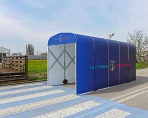 Spielertunnel für die Ferronerie d'Art Lobligeois in Frankreich