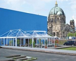 Gartenpavillon für den Entspannungsbereich