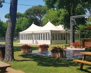 Pagodenzelt - Camping Spiaggia Romea