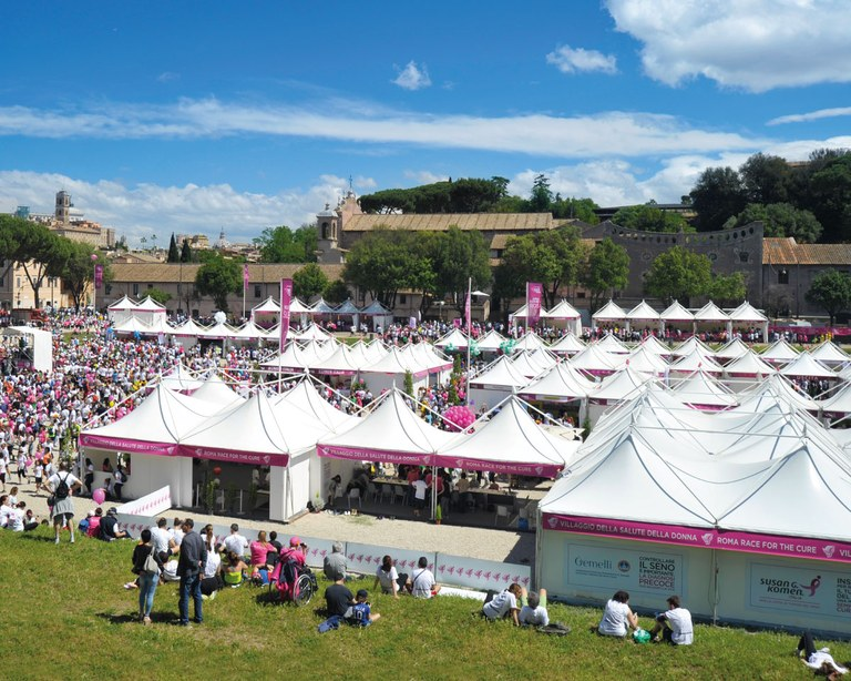 Partyzelt - Circo Massimo - Rom