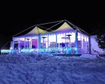 Partyzelt - Cold Russian Winter - Simagino - Russland