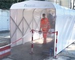 Sanitary Gate - Dekonterminationszelt