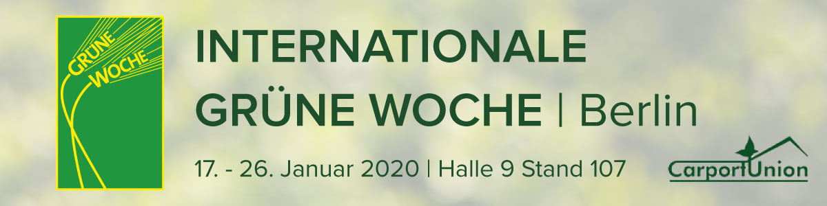 Internationale Gruene Woche 2020