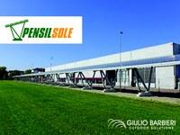 Auch Pi.Effe.Ci. S.R.L. Wählt Solar-Carports, Um Seinen Eigenverbrauch An Solarenergie Zu Decken.