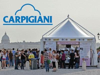 CARPIGIANI-Zelte bringen eine regenerierende Oase in die Wüste von Dubai