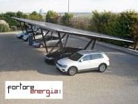 FORTORE ENERGIA WÄHLT EINEN SOLARCARPORT VON GIULIO BARBIERI