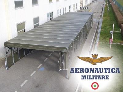 Giulio Barbieri offizieller Lieferant von erweiterbaren Tunneln für die italienische Luftwaffe