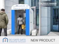 Go-Safe Gate - Das Portal mit integriertem Thermoscanner für die Sicherheit in Innenräumen