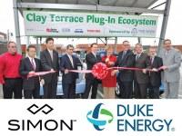 Indiana (USA) - Die Riesen Simon Property Group und Duke Energy wählen Giulio Barbieri S.p.A. zum Realisieren einer Stromtankstelle für Elektrofahrzeuge in Indianapolis aus