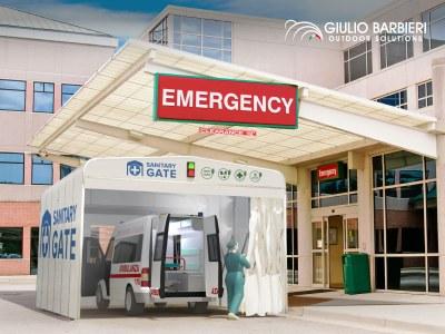"""""""Sanitary Gate"""" - Der Hygiene-und Desinfektionstunnel zur bekämpfung der Covid-19-Pandemie"""