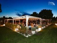 Outdoor social life with Giulio Barbieri's solutions