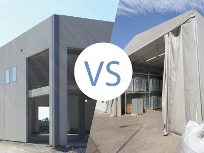Temporary warehouses or permanent?