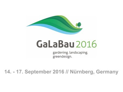 Giulio Barbieri will be exhibiting at GaLaBau 2016 in Nuremberg