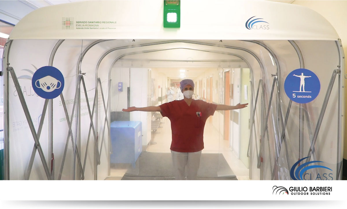 Sanitary Gate disinfection tunnel