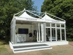 Giulio Barbieri's marquees for Coronational Festival, UK