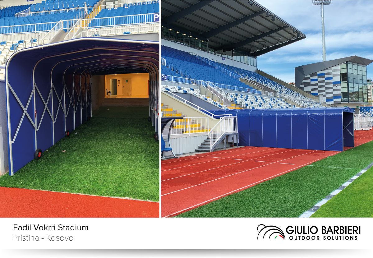 Football tunnel Ready Box