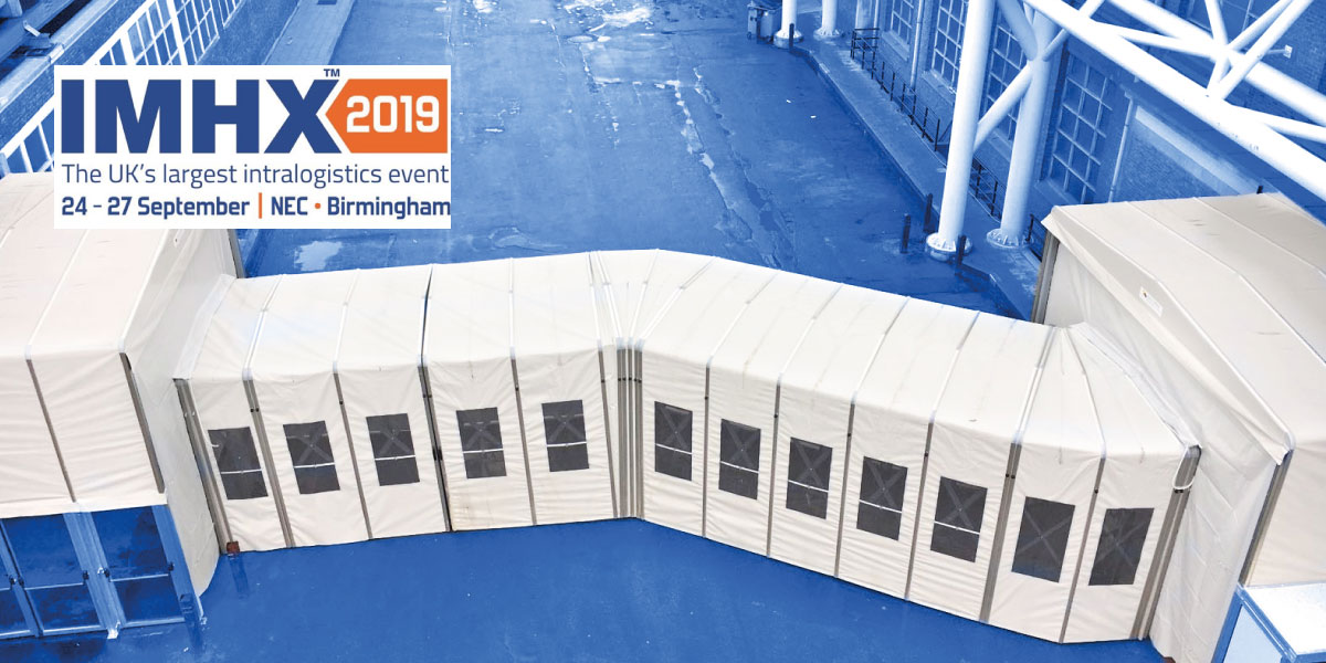 Retractable tunnels and temporary buildings - IMHX