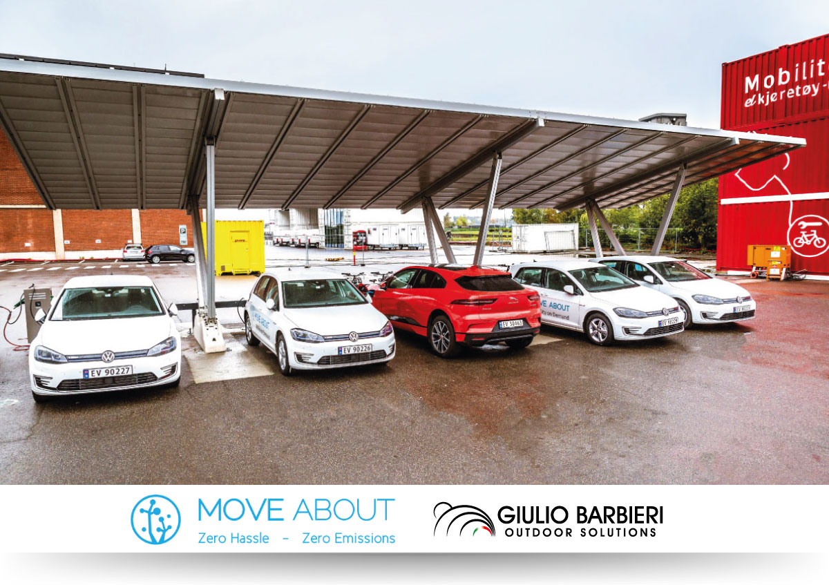 Solar carport Pensilsole - Move About