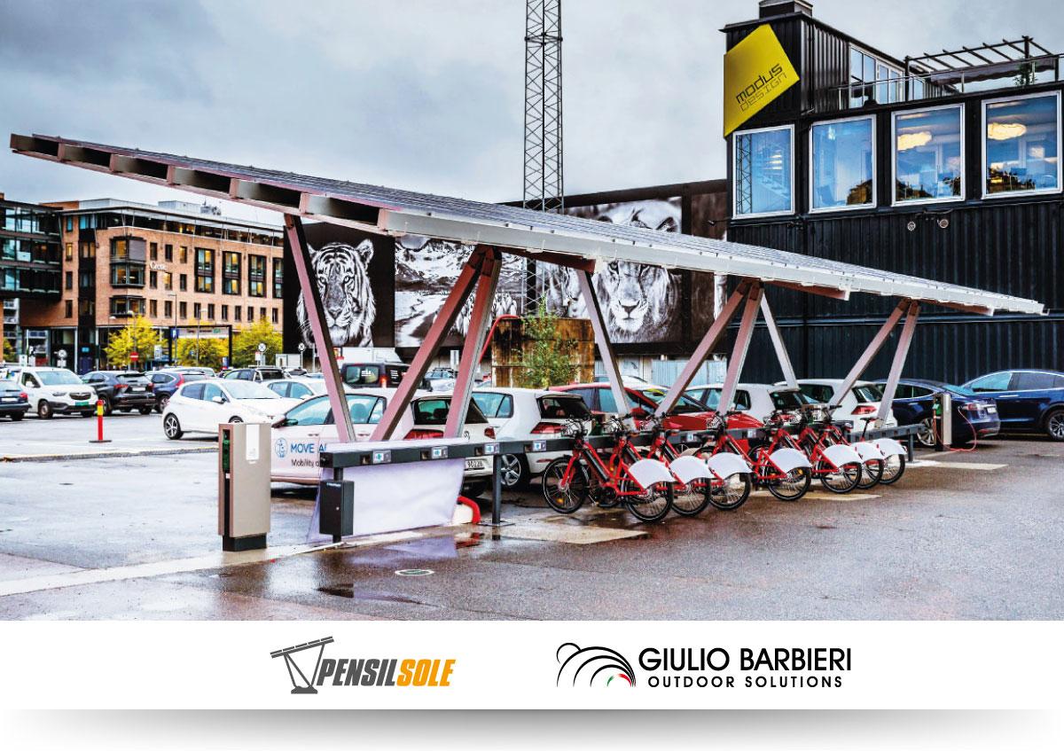 Solar carport Oslo