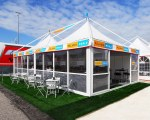 Paddock tent for Severino by Hospitality